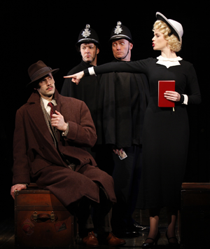 The Cast of THE 39 STEPS