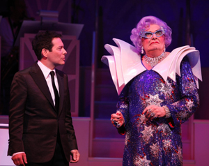 Michael Feinstein and Dame Edna in All About Me