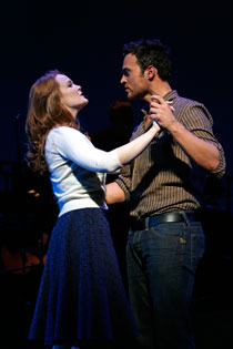 Kate Baldwin and Cheyenne Jackson in Finian's Rainbow