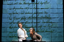 Susan Kellerman (L) and Jane Fonda in 33 Variations