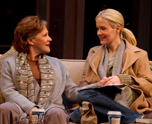 Linda Lavin and Sarah Paulson in COLLECTED STORIES