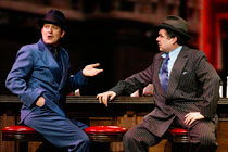 Craig Bierko and Oliver Platt in the Broadway revival of Guys and Dolls