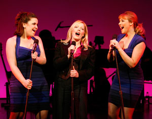 Lindsay Mendez, Sherie Rene Scott and Betsy Wolfe in EVERYDAY RAPTURE