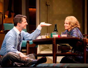 Sean Hayes and Kristin Chenoweth in Promises, Promises