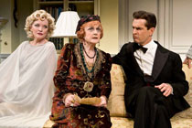 Christine Ebersole, Angela Lansbury and Rupert Everett in Blithe Spirit