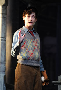 Noah Robbins in Neil Simon's Brighton Beach Memoirs