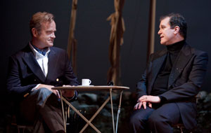 Kelsey Grammer and Douglas Hodge in La Cage aux Folles