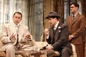 LaPaglia, Shaloub and Bartha in Lend Me a Tenor