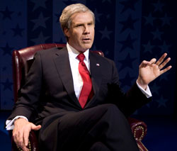 Will Ferrell in You're Welcome America: A Final Night with George W. Bush