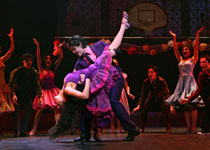 Karen Olivo and George Akram as Anita and Bernardo