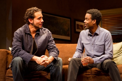 Bobby Cannavale and Chris Rock