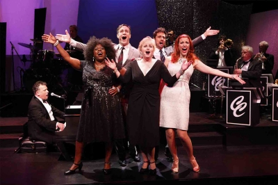 Billy Stritch, Lillias White, Howard McGillin, Sally Mayes, David Burnham, and Rachel York in THE BEST IS YET TO COME; THE MUSIC OF CY COLEMAN
