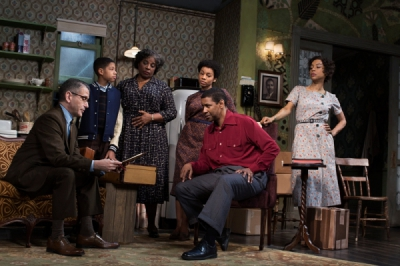 David Cromer, Bryce Clyde Jenkins, LaTanya Richardson Jackson, Anika Noni Rose, Denzel Washington and Sophie Okonedo