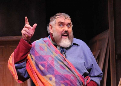 Jim Brochu as Zero Mostel in ZERO HOUR