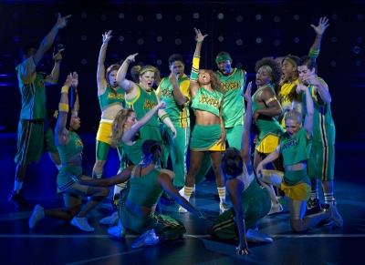 The Company of BRING IT ON THE MUSICAL