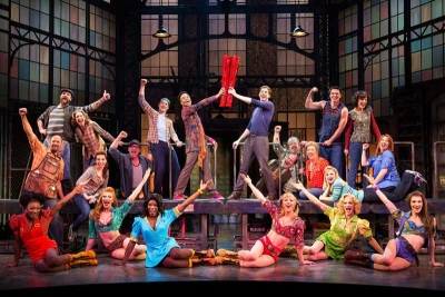The Cast of KINKY BOOTS