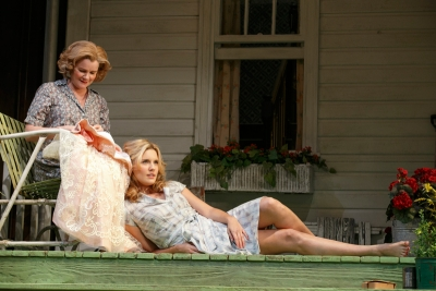 Mare Winningham (l) and Maggie Grace