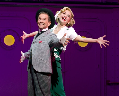 Joel Grey and Sutton Foster
